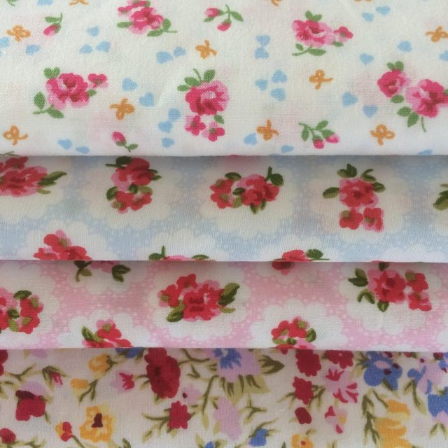 So excited about these gorgeous fabric for the rag wreathhellip