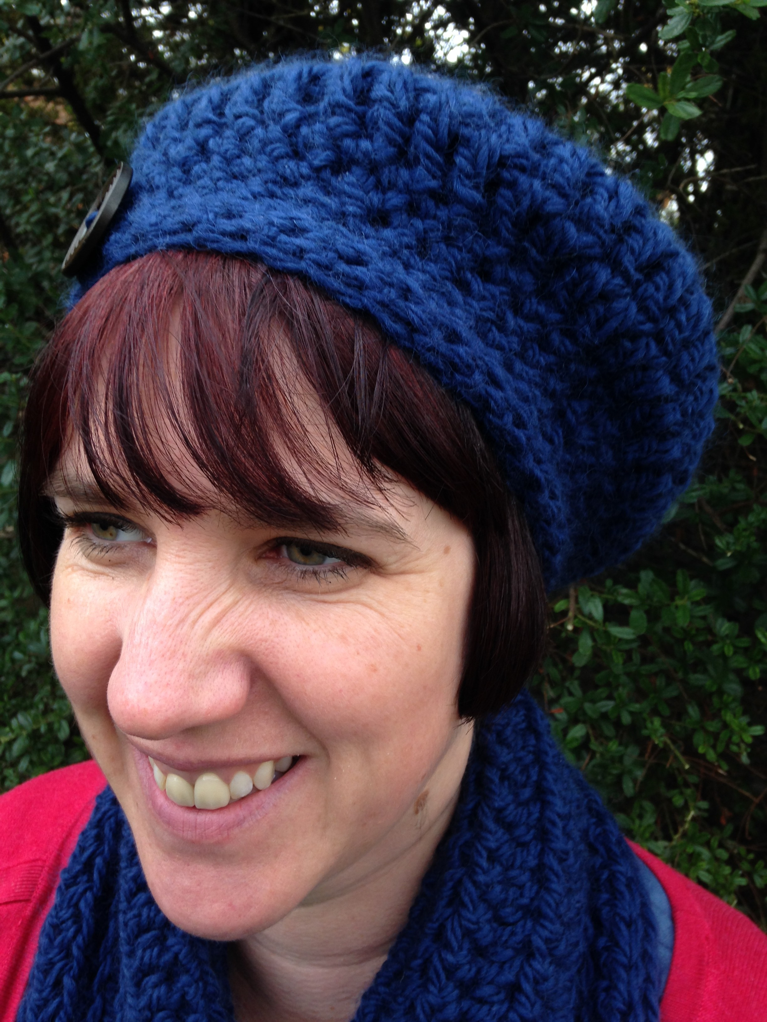 One Ball Beret Crochet Hat Pattern Re Made By Sam