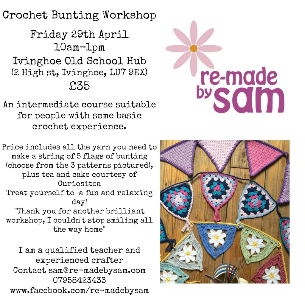 Crochet workshop hertfordshire