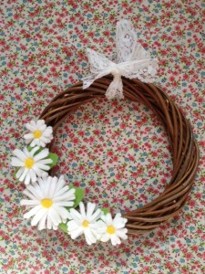 Re-made by Sam Spring wreath