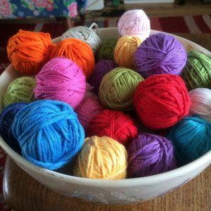 My fruit bowl of stylecraft classique cotton..