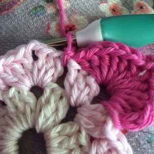 slip stitch in this space