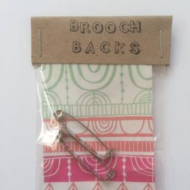 buy beautifully packaged brooch backs