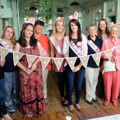 Re-made by Sam personalised Bunting Hen Party