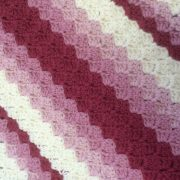 gorgeous stripe corner to corner tapestry crochet