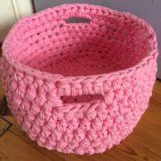 Re-made by Sam Crochet Basket Kit
