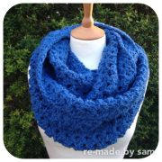 e-made by Sam Cosy Crochet Cowl Kit