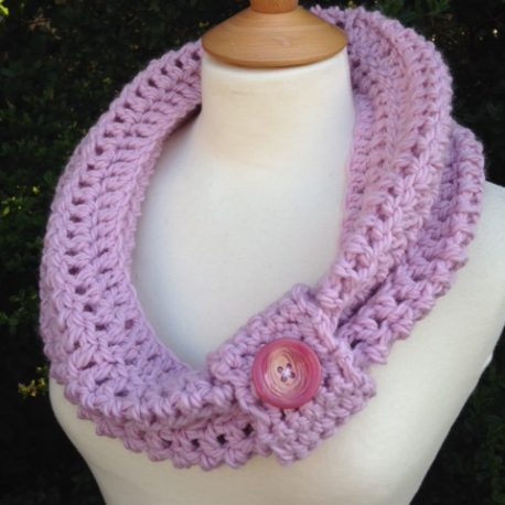 Vintage Crochet Cowl Pattern