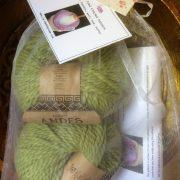 Vintage Button Cowl Crochet Kit