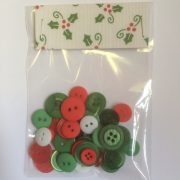 gorgeous christmas buttons