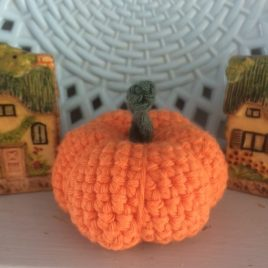 Re-made by Sam Amigurumi Crochet Pumpkin Kit