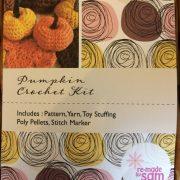 Re-made by Sam Amigurumi Pumpkin Crochet Kit