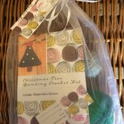 Re-made by Sam Christmas Tree Bunting Crochet Kit