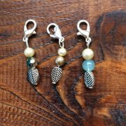Re-made by Sam Vintage Leaf Stitch Markers