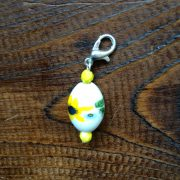 Re-made by Sam Sunflower Bead Stitch Markers