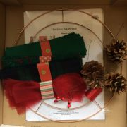 Re-made by Sam Christmas Rag Wreath Kit