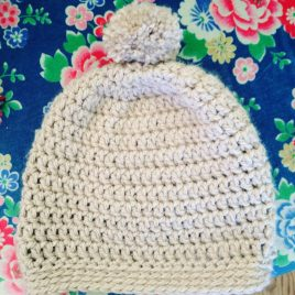 Re-made by Sam Crochet Hat and Mottens Class