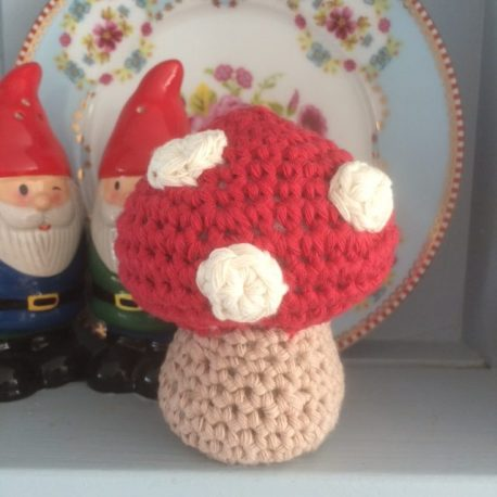 Re-made by Sam Crochet Toadstool Kit