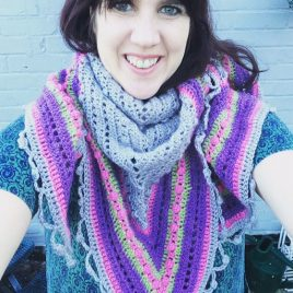 Re-made by Sam Crochet Shawl Class