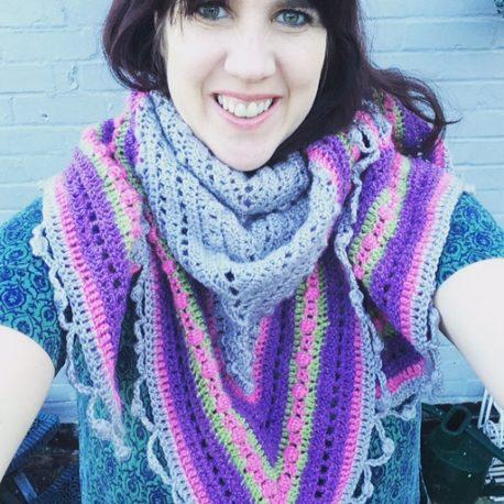 Re-made by Sam Crochet Shawl Class