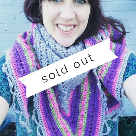 Re-made by Sam Crochet Shawl Workshop Sold Out