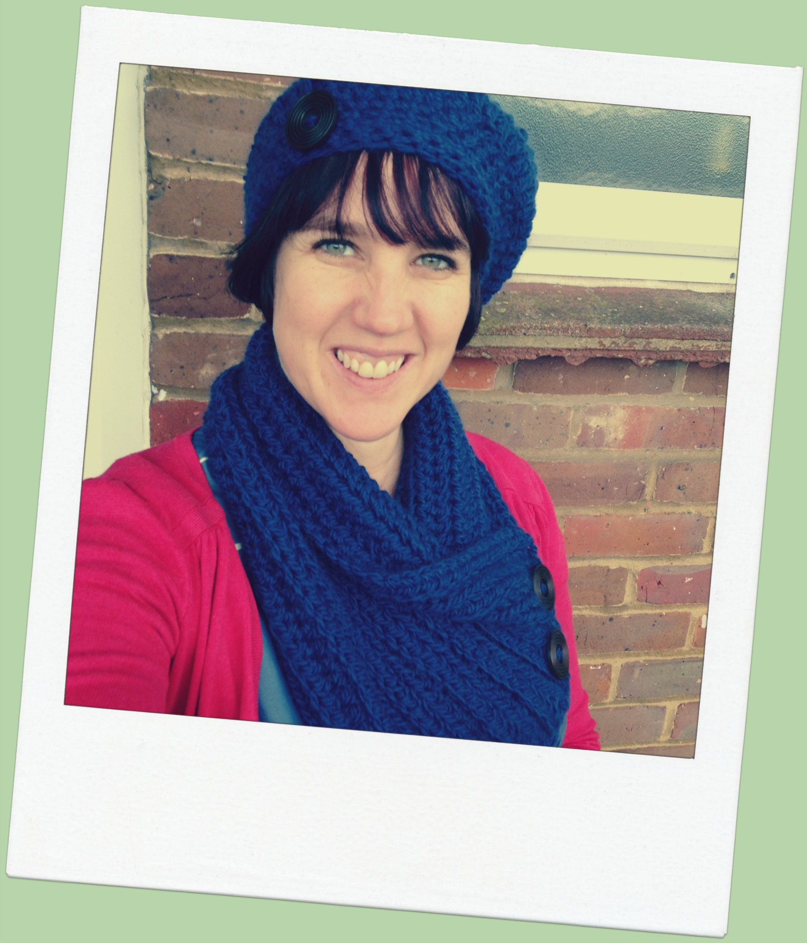 One Ball Beret Crochet Hat Pattern - re-made by sam