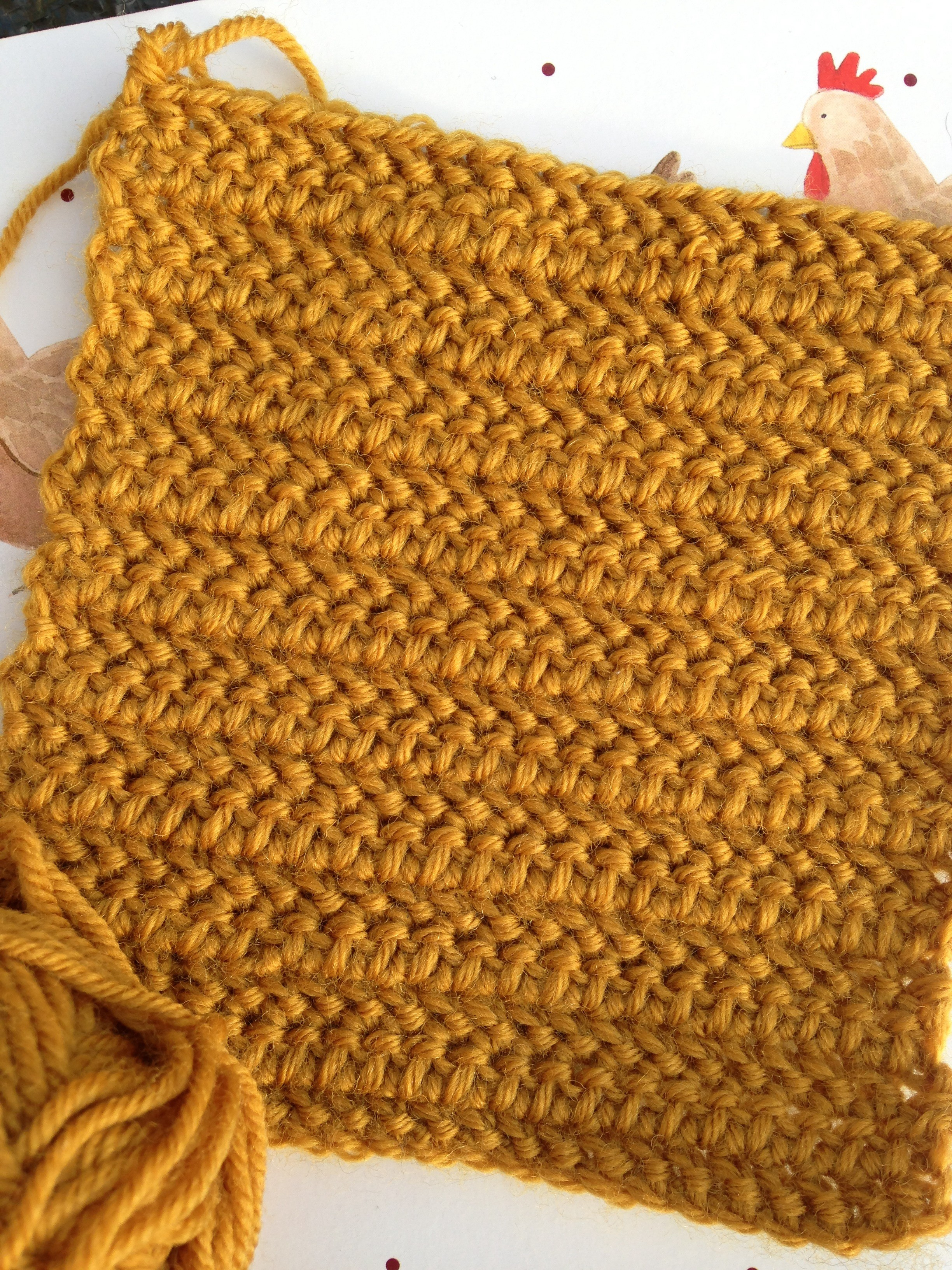 Instructions to make a herringbone half treble crochet stitch this pattern is taken from the harmony guide to crochet stitches 1986 lyric books ltd and uses uk terms herringbone half treble dt1010fo