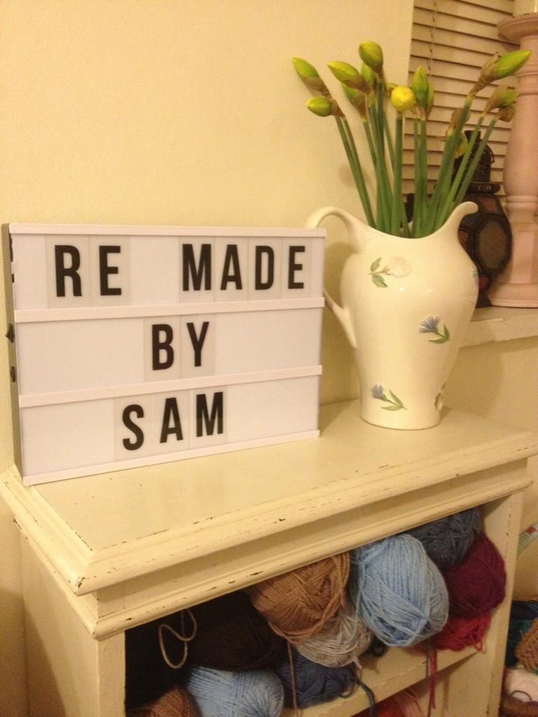 Re-made by Sam crochet club
