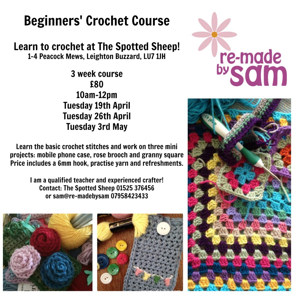crochet course herts