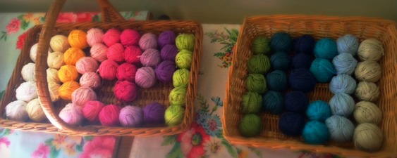 crochet workshop balls of yarn remade by sam