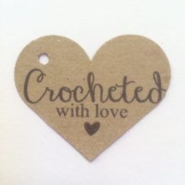 gift tage for your crocheted item