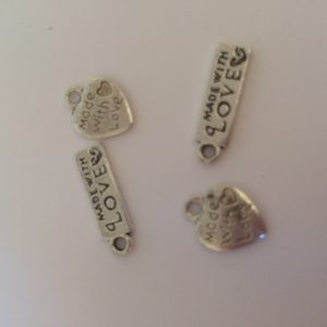 metal tags for your crochet and craft makes