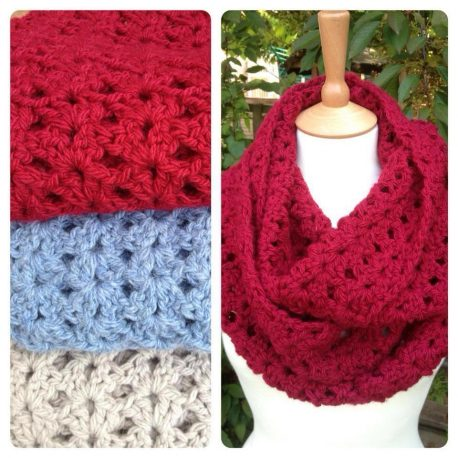 Re-made by Sam Crosy Crochet Cowl Kit