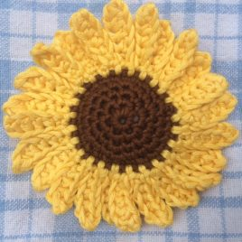 Re-made by Sam Sunflower Crochet Kit
