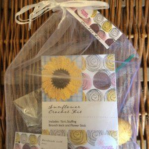 Re-made by Sam Sunflower Crochet Kit