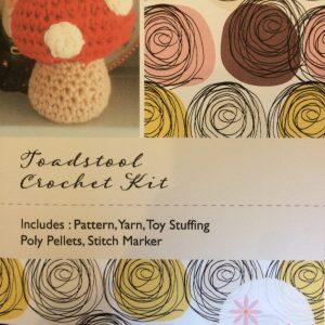 Re-made by Sam Amigurumi Toadstool Crochet Kit