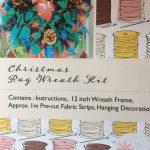 Re-made by Sam Christmas Rag Wreath Kit