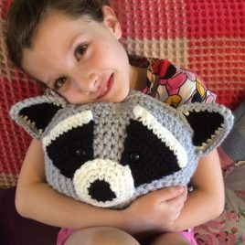 Animal Crochet Cushion Class Re-made by Sam