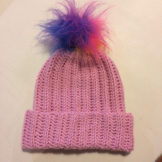 Easy Peasy Crochet Pom Pom Hat Kit Re Made By Sam