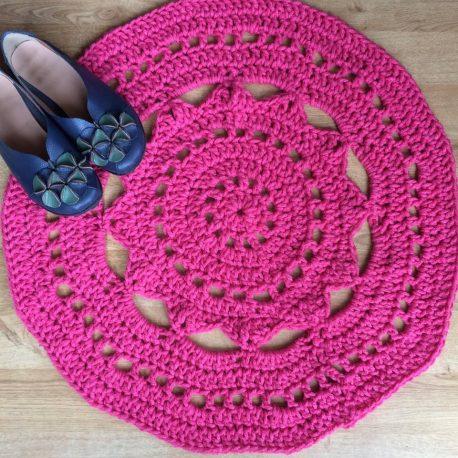 crochet rug workshop