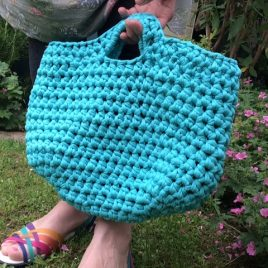 Crochet Jelly Bag