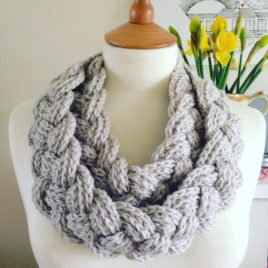 plaited cowl pattern