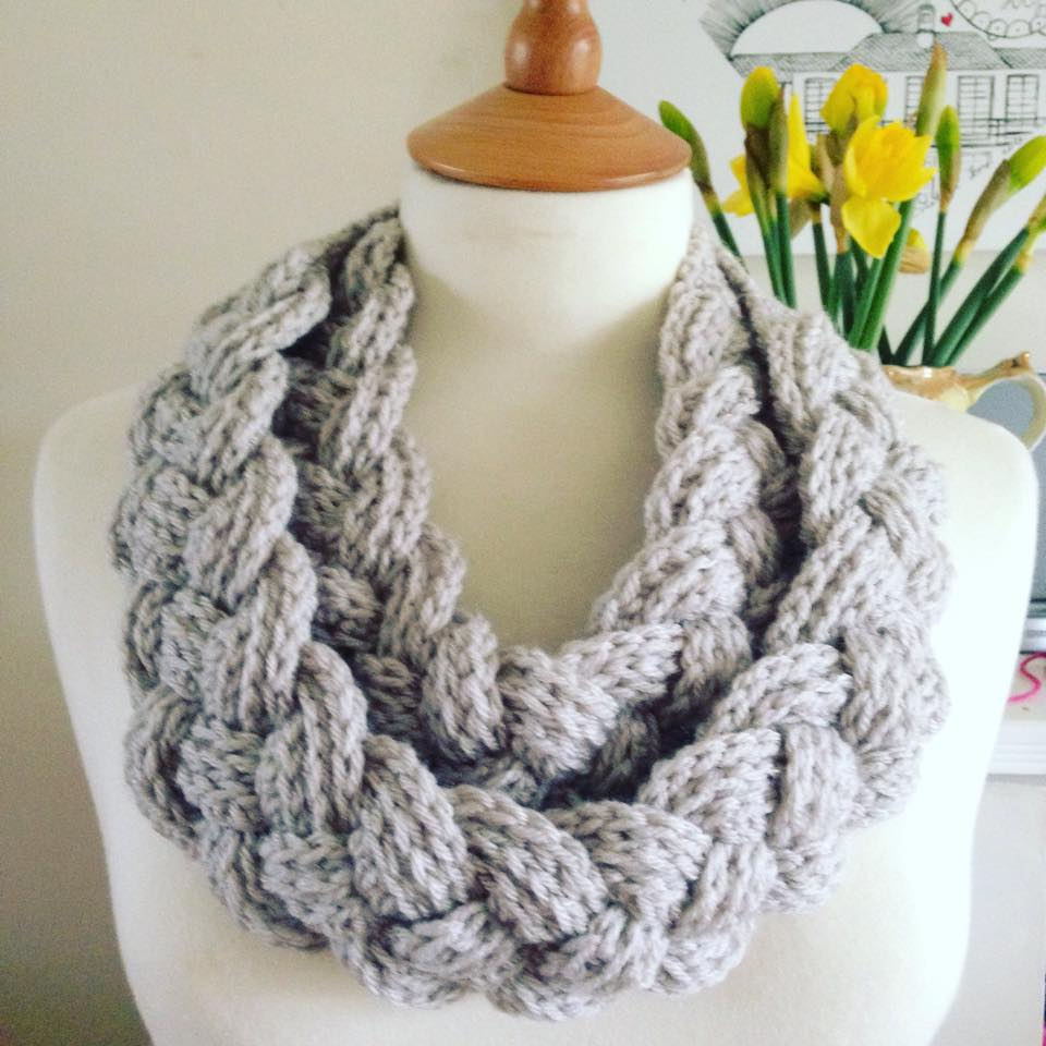 Simple Braided Cowl Crochet Pattern Re Made By Sam Tring