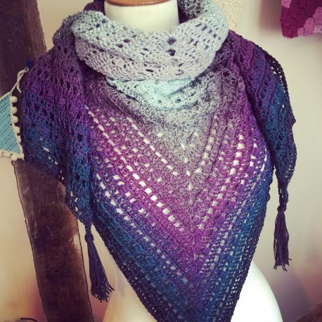 shawl in scheepjes