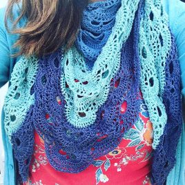 re-made by sam virus shawl pattern