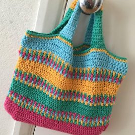 summer bag crochet pattern
