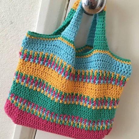 summer bag crochet pattern