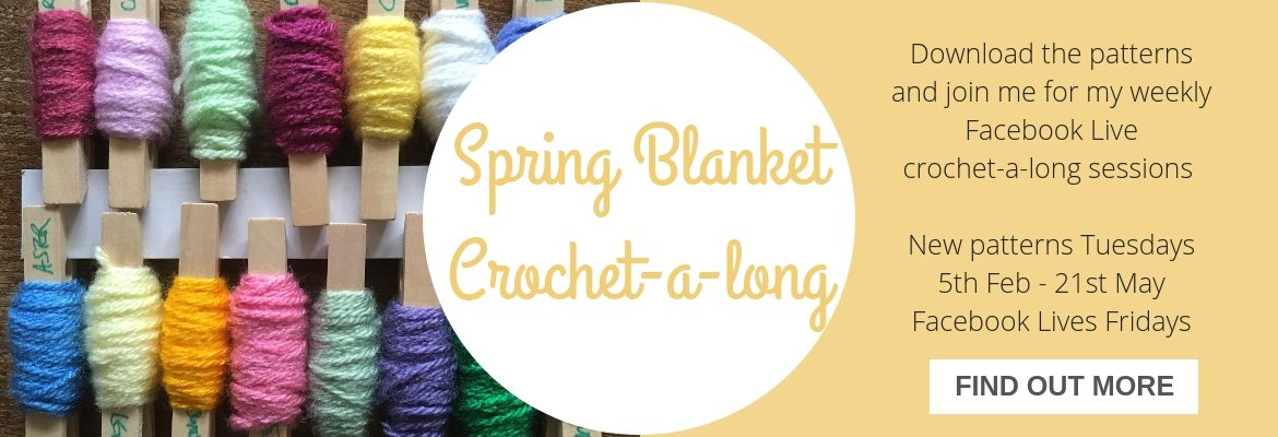 spring blanket crochet along