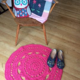 Crochet Rug – Wednesday 19th February