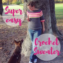 super easy crochet sweater class